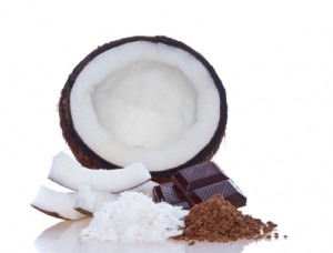 Chocolate coconut mask
