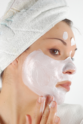 Acne face mask