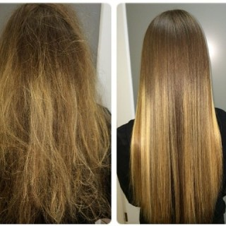 Keratin-Protein-Plus-DIY-Treatment-30-ml-Concentrate-with-15-ml-Moroccan-Argan-Oil-Smoothes-Shines-Shiny-Hair-Curls-Straight-Wavy-0