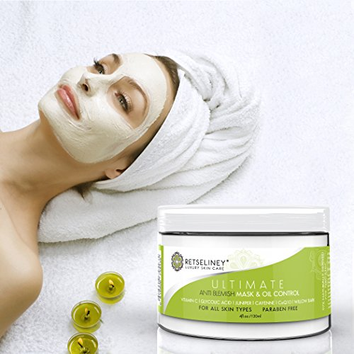 Retseliney Best Acne Face Mask Oil Control Organic Acne Treatment 2